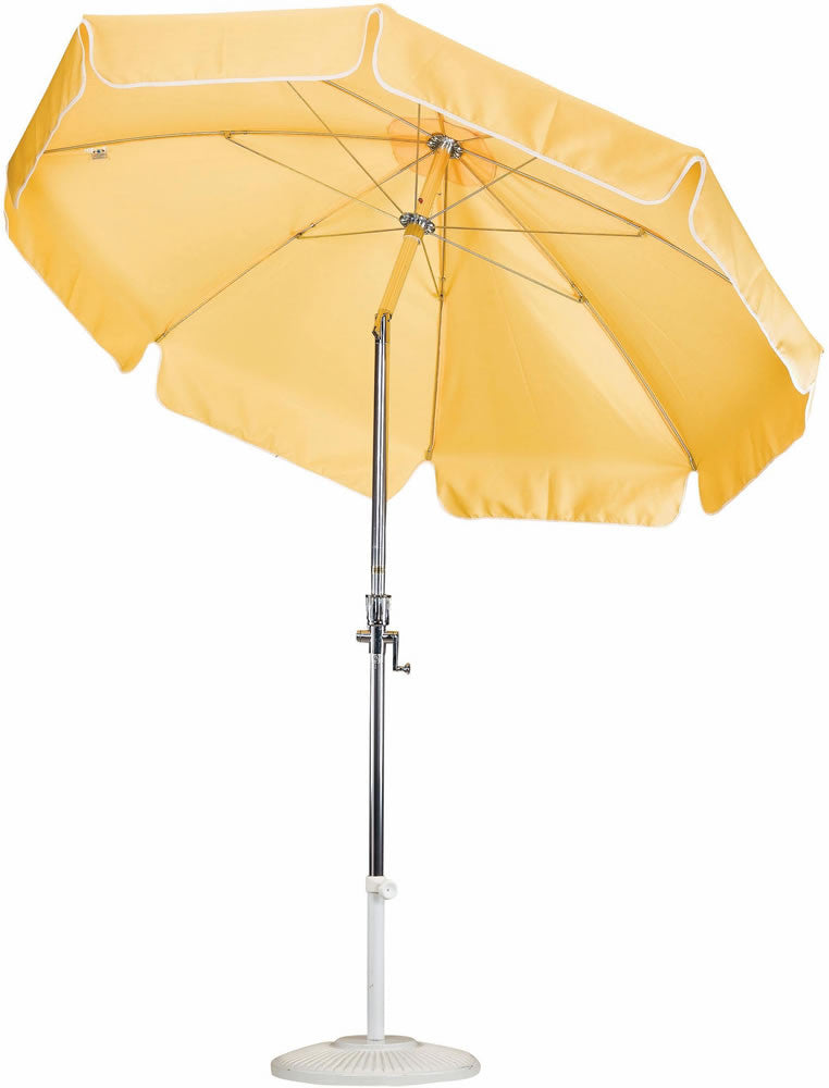 "Patio Heaven  CU-APC-750 7.5' Alum Patio Umbrella, Crank Open, 1.5"" Pole"