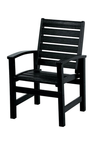 Polywood 1910-BL Signature Dining Chair in Black - PolyFurnitureStore