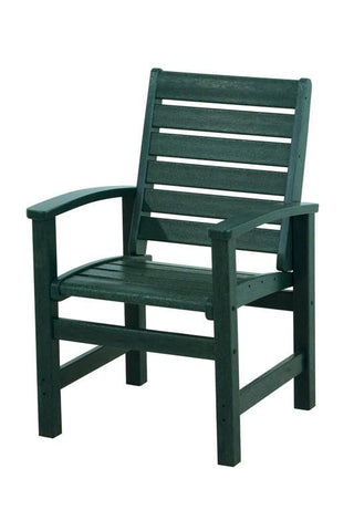 Polywood 1910-GR Signature Dining Chair in Green - PolyFurnitureStore