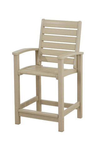 Polywood 1911-SA Signature Counter Chair in Sand - PolyFurnitureStore