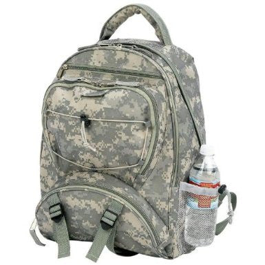 B&F System LUBPSD Extreme Pak Digital Camo Water-Repellent Backpack - Peazz.com