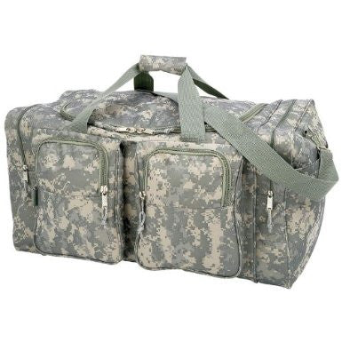 B&F System LUN26D Extreme Pak Digital Camo 25-1/2 Water-Repellent, Heavy-Duty Tote Bag - Peazz.com