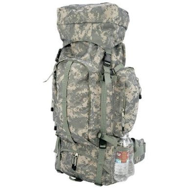 B&f System Luob310d Extreme Pak Digital Camo Water-repellent, Heavy-duty Mountaineers Backpack