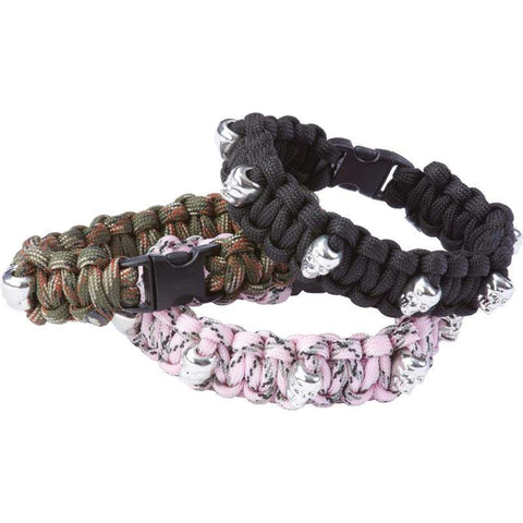 B&F System SPCORDWS Maxam 12pc Paracord Bracelet Set - Peazz.com