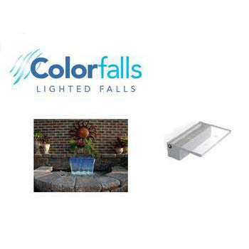 "Colorfalls 12"" White - Peazz.com"