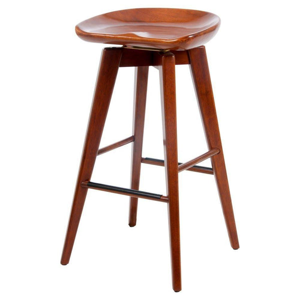 Boraam 29 Quot Bali Swivel Stool Walnut Walnut 55129
