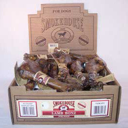 Smokehouse Lamb Bonz Shelf Display Box 30ct