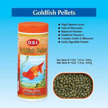Goldfish Pellets 6.69oz - Medium - Peazz.com