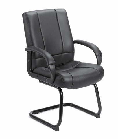 Boss Office Products B7909 Boss Caressoft  Mid Back Guest Chair - Peazz.com