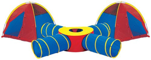 Pacific Play Tents 20457 Tunnels Of Fun Super Set WithTents