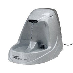 Drinkwell D2VVIDOG-RE Platinum Pet Fountain - Peazz.com