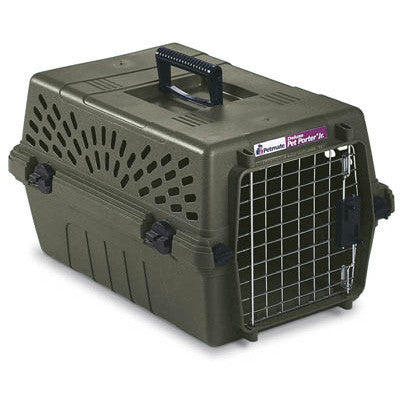 Deluxe Pet Porter Jr Small Olive 19 x 12.3 x 10.8 - Peazz.com