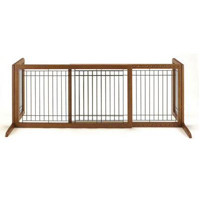 Freestanding Pet Gate Large in Autumn Matte - Peazz.com