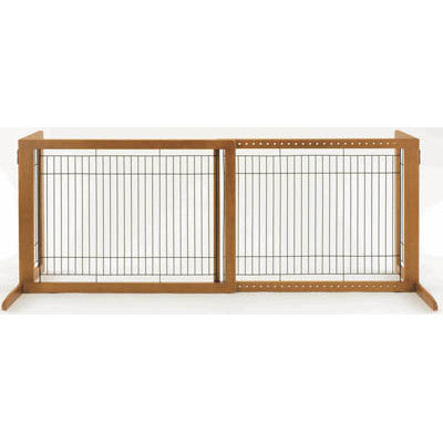 Freestanding Pet Gate HL in Autumn Matte - Peazz.com