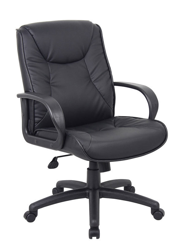 Boss Office Products B9836 Boss Chairs@Work Mid Back BOS-B9836