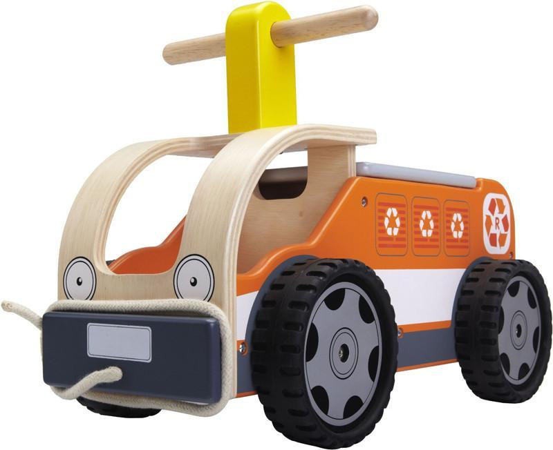 Wonderworld Toys WW-4054 Ride On Recycling Truck