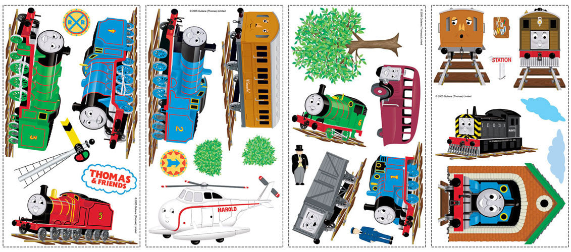 Thomas & Friends Peel & Stick Wall Decals (RMK1035SCS)