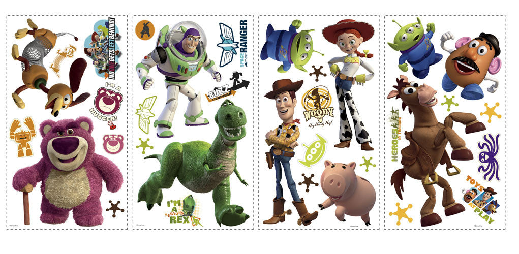 Toy Story 3 Peel & Stick Wall Decals (RMK1428SCS)