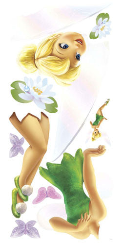 Disney Fairies - Tinkerbell Peel & Stick Giant Wall Decal (RMK1494GM)