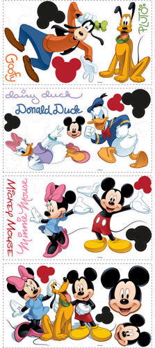 Mickey & Friends Peel & Stick Wall Decal (RMK1507SCS)