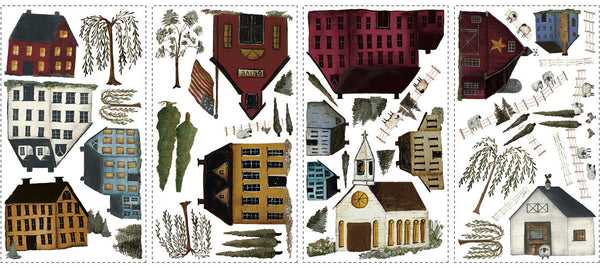 Country Scenic Peel & Stick Wall Decals (RMK1569SCS