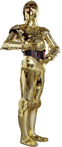 Star Wars Classic C3PO Peel & Stick Giant Wall Decal (RMK1591GM)