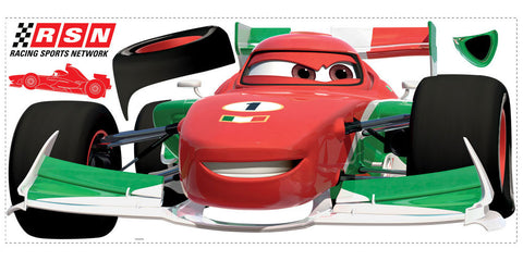 Cars 2 Francesco Peel & Stick Giant Wall Decal (RMK1753GM) - Peazz.com