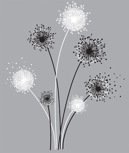 Dandelion Peel & Stick Giant Wall Decal (RMK1775GM)