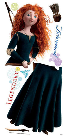 Brave - Merida Peel & Stick Giant Wall Decal (RMK1937GM) - Peazz.com