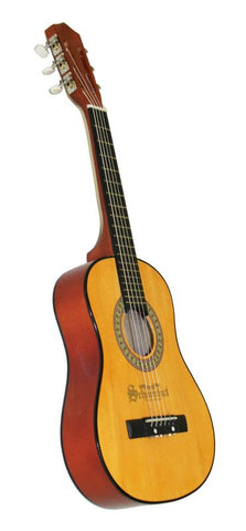 Schoenhut 6 String Guitar w/ Metal Strings - Oak/Mahog 605OM - Peazz.com