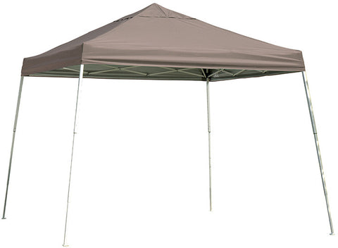 ShelterLogic 22548 12 ft. x 12 ft. Sport Pop-up Canopy Slant Leg Desert Bronze Cover - Peazz.com