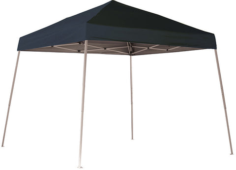 ShelterLogic 22575 10 ft. x 10 ft. Sport Pop-up Canopy Slant Leg Black Cover - Peazz.com