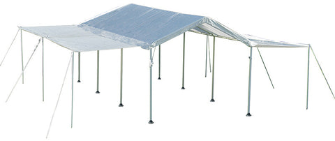 ShelterLogic 23530 Max AP 10 ft. x  20 ft. 2-in-1 Canopy with Extension Kit - Peazz.com
