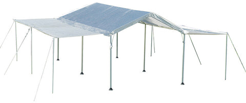 ShelterLogic 25730 Max AP 10 ft. x 20 ft. White Canopy Extension Kit - Peazz.com