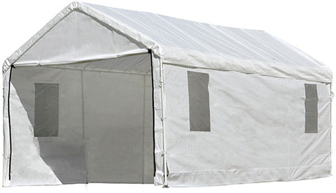 ShelterLogic 25772 Max AP 10 ft. x 20 ft. Enclosure Kit with windows - Peazz.com