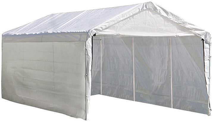 ShelterLogic 25774 Super Max 12 Ft. X 20 Ft. White Canopy