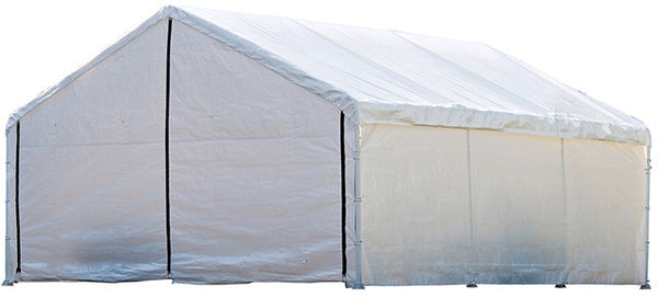 ShelterLogic 26775 Super Max 18 Ft. X 20 Ft. White Canopy