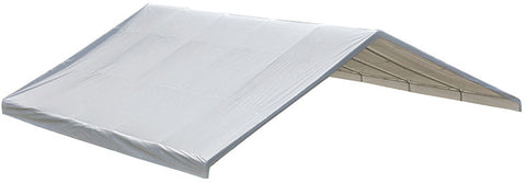 "ShelterLogic 27778 30x30 Canopy White Replacement Cover for 2-3/8"" Frame FR Rated - Peazz.com"