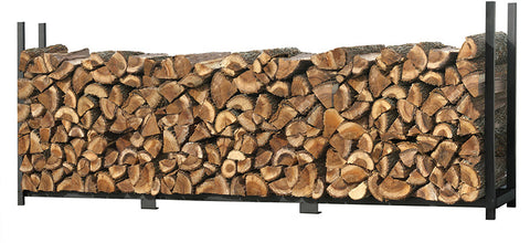 ShelterLogic 90473 Firewood Rack-in-a-Box Ultra Duty Rack - 12 ft. - Peazz.com
