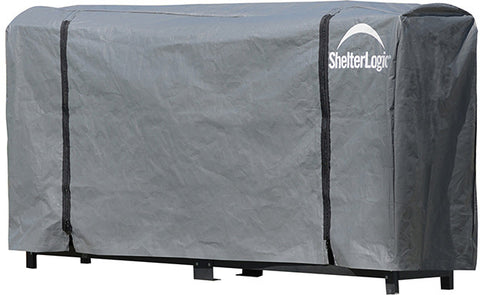 ShelterLogic 90478 Firewood Rack-in-a-Box Universal Cover - 8 ft. - Peazz.com