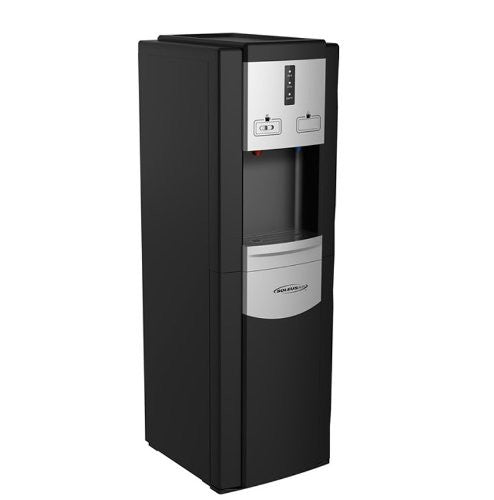Soleus Air WA1-02-21A DB Aqua Sib Easy-Load Water Cooler - Multi-Color Display - Cold And Hot Water Dispenser - Hot Water Child Safety Lock