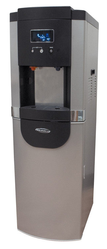 Soleus Air WA2-02-50 DB New Aqua Sub Water Cooler, With Hot And Cold Settings And Bottom-Load Design