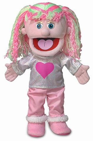 "14"" Kimmie Puppet Pink - Peazz.com"