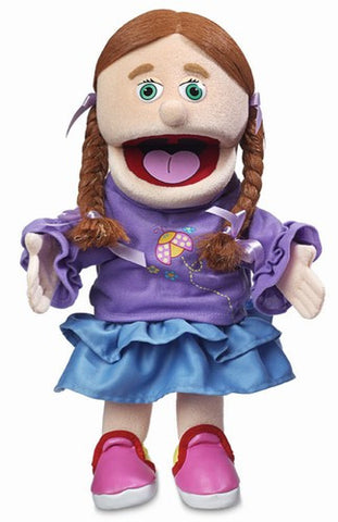 "14"" Amy w/ Peach Skin Puppet - Peazz.com"