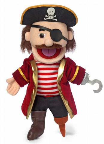 "14"" Pirate w/ Peg Leg Puppet - Peazz.com"