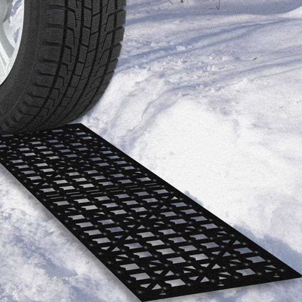 Snow Chains For Tires >> 82-Yj498 Car Tire Snow Grabber Mats - 2 Pieces By ...