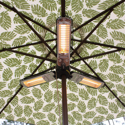 Well Traveled Living 60404 Umbrella Halogen Patio Heater - Peazz.com