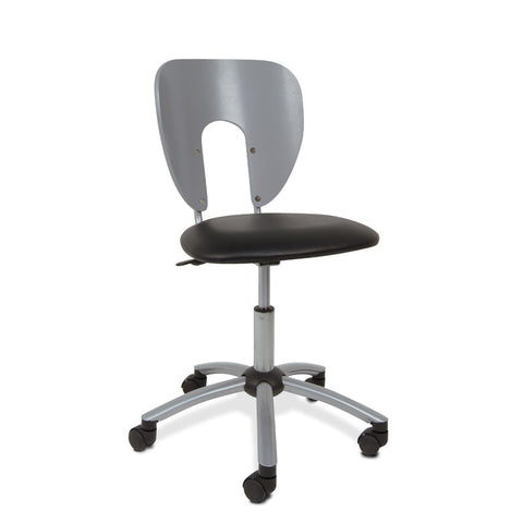 Studio Designs 10052 Futura / Vision Chair / Silver - Peazz.com