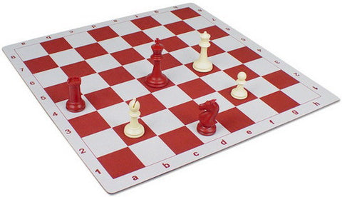 Floppy Chess Board - Red - Peazz.com