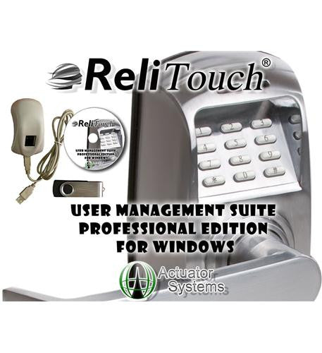Actuator Systems Act-umspro-win Relitouch User Management Suite-windows